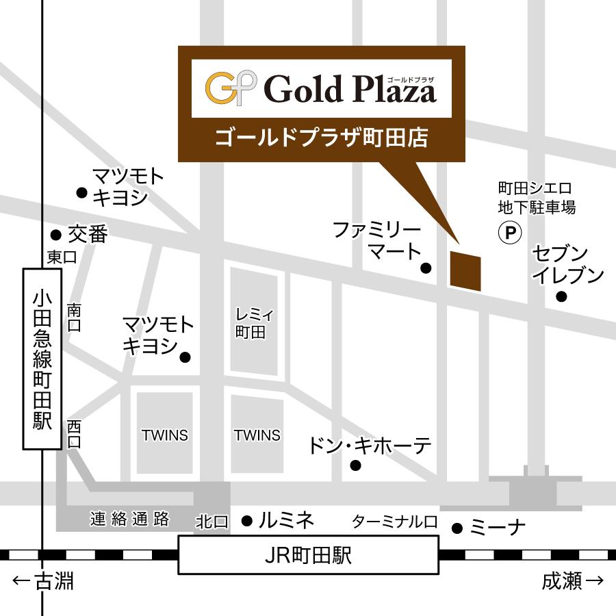 町田店MAP画像