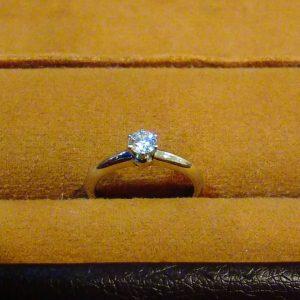 ゴールドプラザ名古屋栄店ティファニー買取ダイヤモンドリング