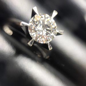 ゴールドプラザ梅田本店ダイヤモンド買取ダイヤリング画像