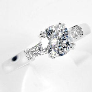 ハリーウィンストン(HARRY WINSTON)ダイヤモンドリング画像