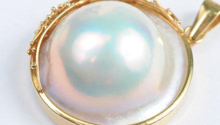 パールの種類-マベ真珠