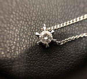 ダイヤモンドネックレス画像