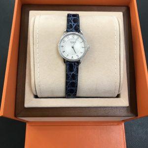 スリムドゥエルメス腕時計画像