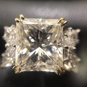 ダイアモンド プリンセスカット