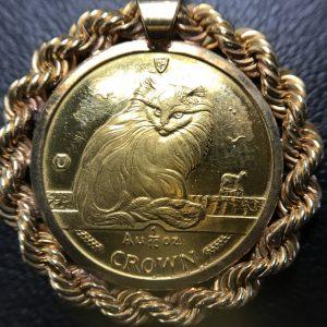 K24 キャット金貨 画像