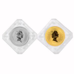 純金 純プラチナ コイン画像