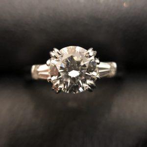 ハリーウィンストンダイヤモンドリング画像