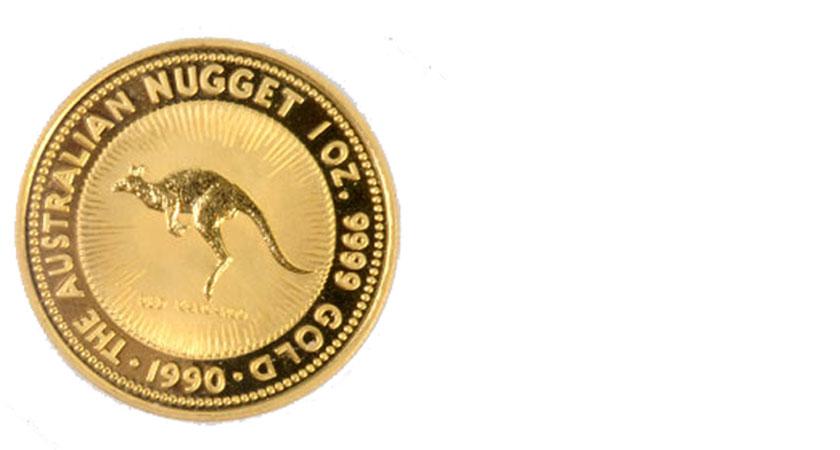 K24の金貨画像カンガルー金貨