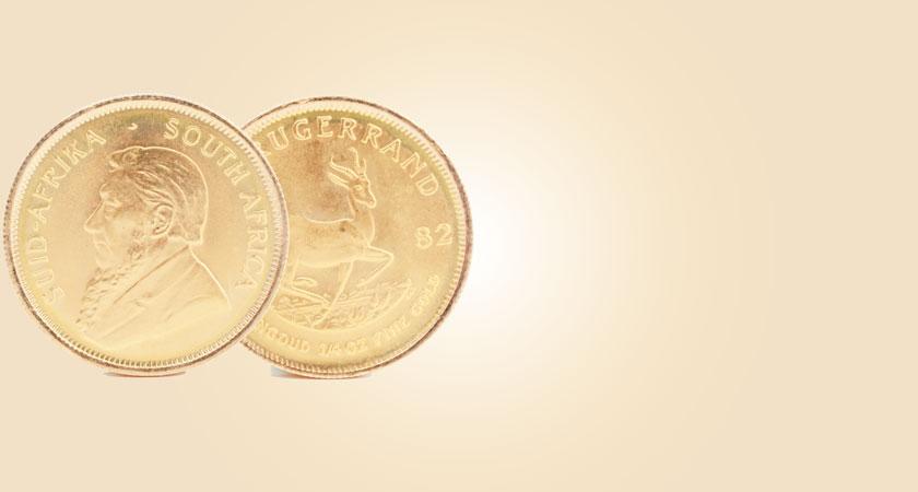 クルーガーランド金貨画像