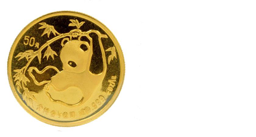 K24の金貨画像パンダ金貨