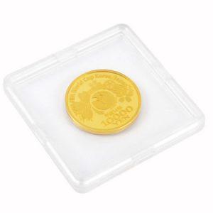 ワールドカップ記念1万円金貨画像