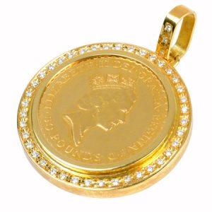 ブリタニア金貨画像