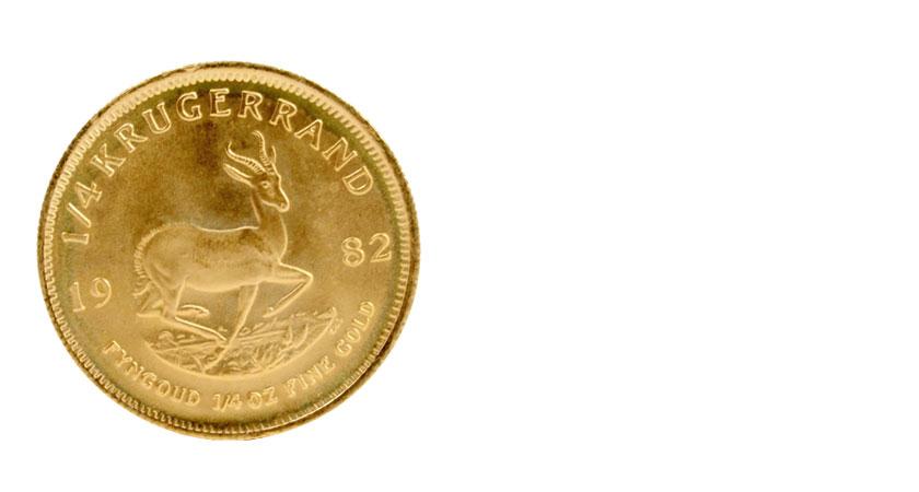 K22金貨の画像クルーガーランド金貨