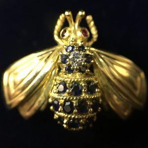 ティファニー/蜂ブローチ画像