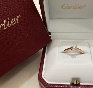 カルティエ(Cartier)ソリテールリング画像