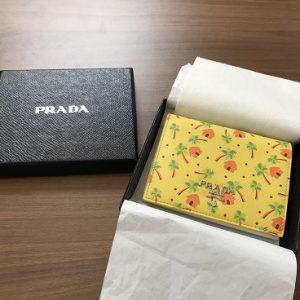 プラダ/つ折り財布画像