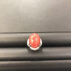 赤珊瑚リング画像