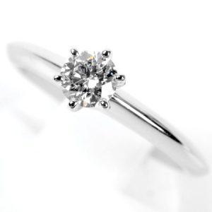 ティファニー(Tiffany&CO)ダイヤモンドリング画像
