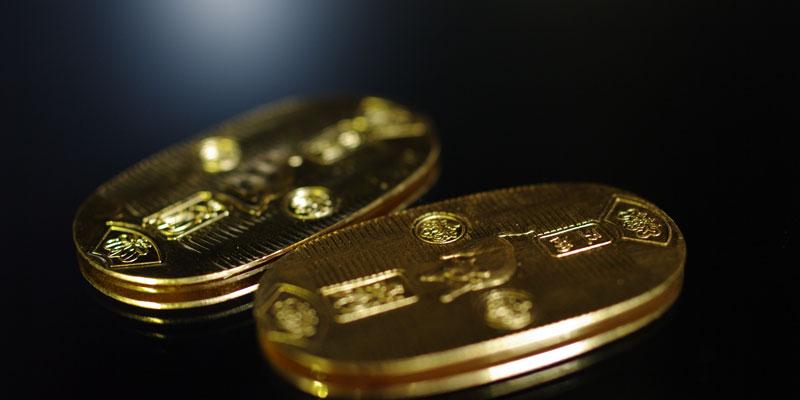 金価格高騰-金画像