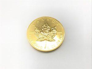 K24メイプルリーフ金貨画像