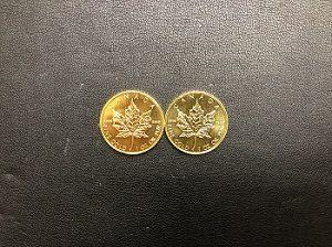 K24メイプルリーフ金貨