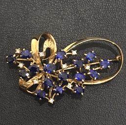 ジュエリー(jewelry)ブローチ画像