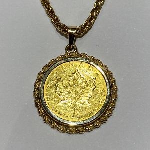金貨ペンダント画像