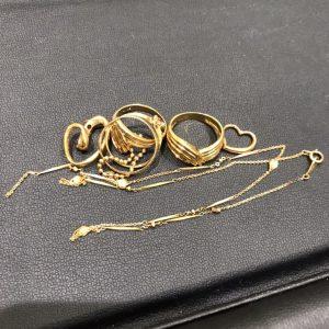 金(gold)ジュエリー画像