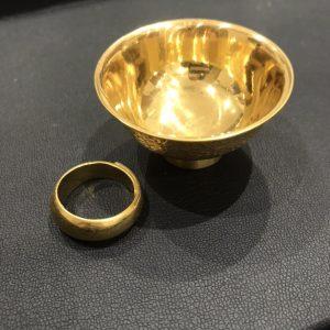 金(gold)おちょこ画像
