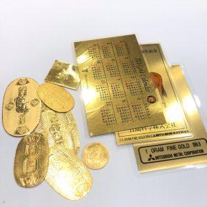 金(gold)カレンダー画像