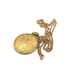 金(gold)ネックレス画像