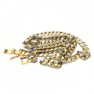 金(gold)プラチナ(platinum)ネックレス画像