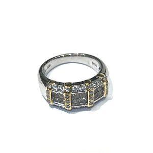 K18Pt900ダイヤモンドリング買取実績画像