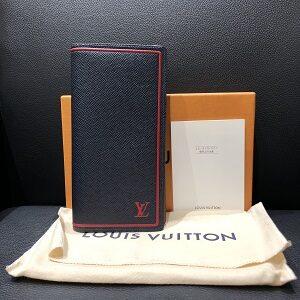 ルイ・ヴィトン(Louis Vuitton)ポルトフォイユ・ブラザブルーマリーヌM63434買取実績画像