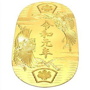 K24純金令和小判買取実績画像