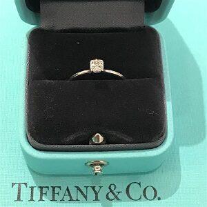 ティファニー(Tiffany&Co)Pt950D0.27ctトゥルーエンゲージメントリング買取実績画像