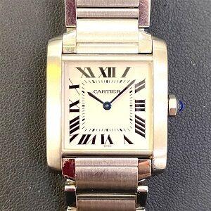 カルティエ(Cartier)タンクフランセーズMMWSTA0005SS自動巻き買取実績画像
