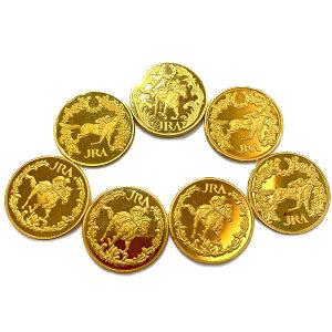 24金JRAメダル7枚買取実績画像
