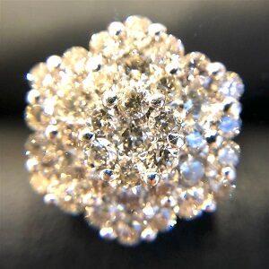 K18WGメレダイヤモンド2.00ctリング買取実績画像