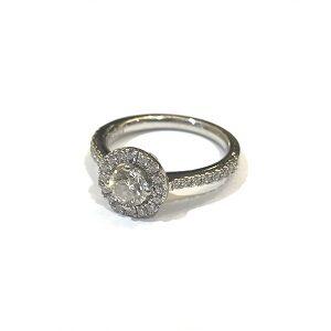ダイヤモンド0.51ctメレダイヤ0.31ctリング買取実績画像