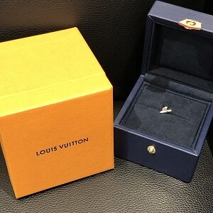 ルイ・ヴィトン(Louis Vuitton)ピュスヴォルト・ワン1Pダイヤピアス買取実績画像