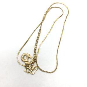 ディオール(Dior)メッキデザインネックレス買取実績画像